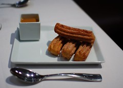 Churros with Cajeta