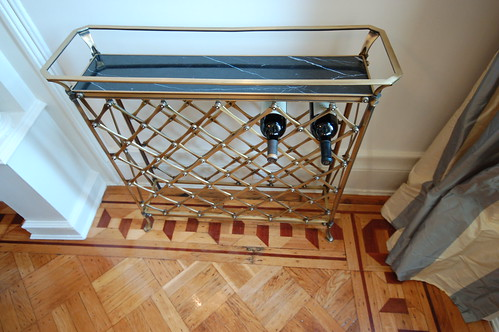 Brass Wine Rack