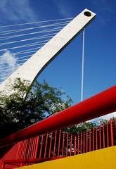 Puente de la Unidad desde la Alianza Francesa - Monterrey, México (myrmardan) Tags: bridge mexico puente ponte nuevoleon pont mexique monterrey bashi mexiko messico メキシコ mekishiko buruiji