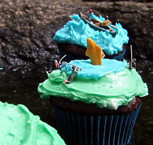 Gone Phishing Martha Stewart Chocolate Cupcakes