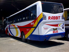 DSC00889 (SaintChristopher-FOR THE WOUNDS THAT NEVER HEALED) Tags: bus rabbit lines del bullet monte hino rf philippine 8543 prbl ek100 dmmc