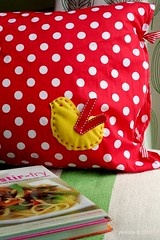 Project : Cushion Cover - Bird