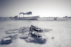 POV 2 (Khaled A.K) Tags: sea photography boat sa jeddah saudiarabia khaled ksa blackandwhit saudia kashkari