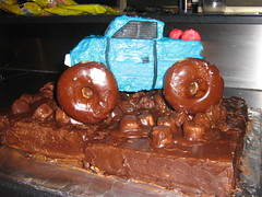 monster truck cake - dylans 1st birthday (sharifield) Tags: birthday ca monster cake truck mud birthdaycake mudcake monstertruck moster monstertruckcake monstertruckbirthdaycake mudpitt