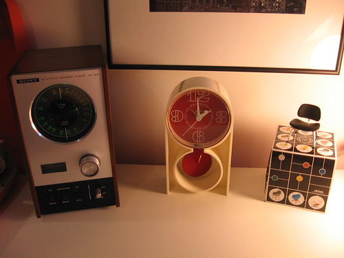 Dad's '70 radio and collectables