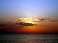 Sunset (Vasilis Mantas) Tags: sunset sea sun airplane group olympus thessaloniki 100 soe comment rosepetal mantas 5photosaday flickrsbest     ysplix theunforgettablepictures  platinumheartaward 700  bmantas vmantas vmantasphotography