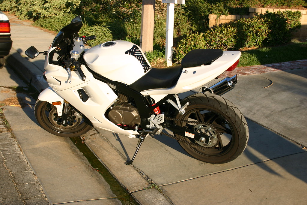 Got All my Fairings and Tank back!!! - Sportbikes net