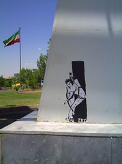 apache (- FRZ -) Tags: urban art graffiti stencil sticker iran freeze    frz
