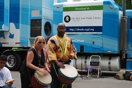 Inner Beats Drummers - New York Public Library - Digital Bookmobile