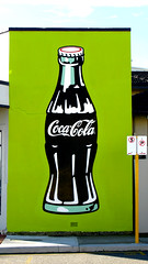 Coca-Cola (Filor) Tags: green beach canon graffiti cola market oz under ad australia down powershot perth western wa scarborough cottesloe aussie coca occidentale afs scarboro g9 intercultura filor waati