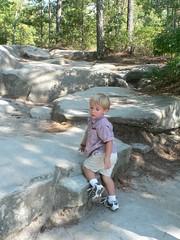 Climbing Stone Mountain