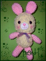Juanita la Conejita (PrenD-T) Tags: cute handmade conejo crochet kawaii mano amigurumi hecho tierno ganchillo coneja manualidad