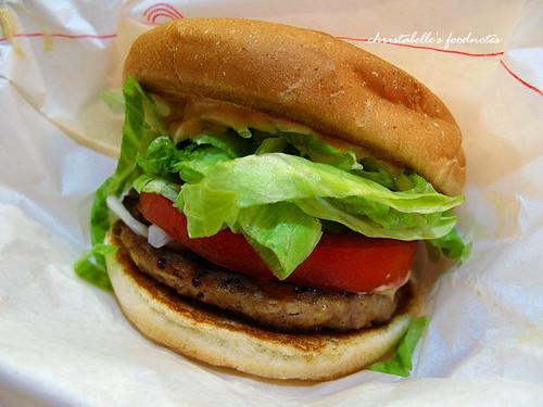 Mos摩斯野菜牛肉堡