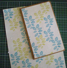 moleskine notebook with my own decoration paper