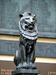 Majestic Guardian (Pyratqwn) Tags: uk travel england canon bath memorial wwi lion powershot worldwari s2is s5is pyratqwn
