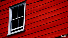 Who's In The Window (geeo123) Tags: windows red orange house colour home window lines dark that quality there pixels whos fickr whosthat anawesomeshot colorfullaward whatsthatinthewindow geo123