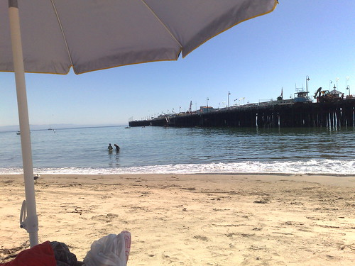 wharf in Santa Cruz