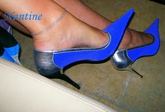 Blue - silver pumps 1 (Kwnstantina) Tags: sexy feet female fetish silver greek foot women toes pumps highheels legs sandals arches stiletto soles footfetish anklet sexylegs stileto stilletto sexyshoes heeled higharches feale highheeledpumps highheelspumps  womaninspikeheels bleustilletto