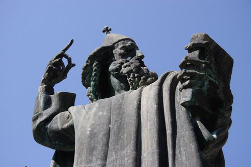 Statue in Split
