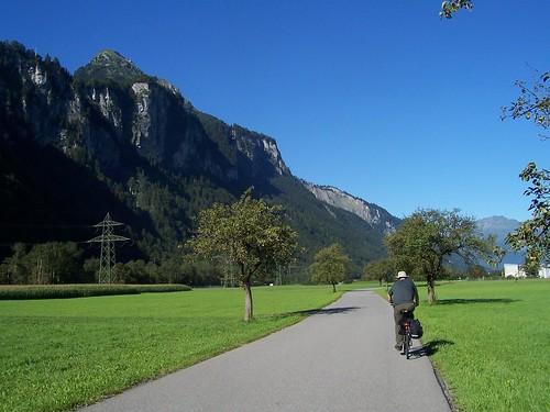 Cycling from Meiringen