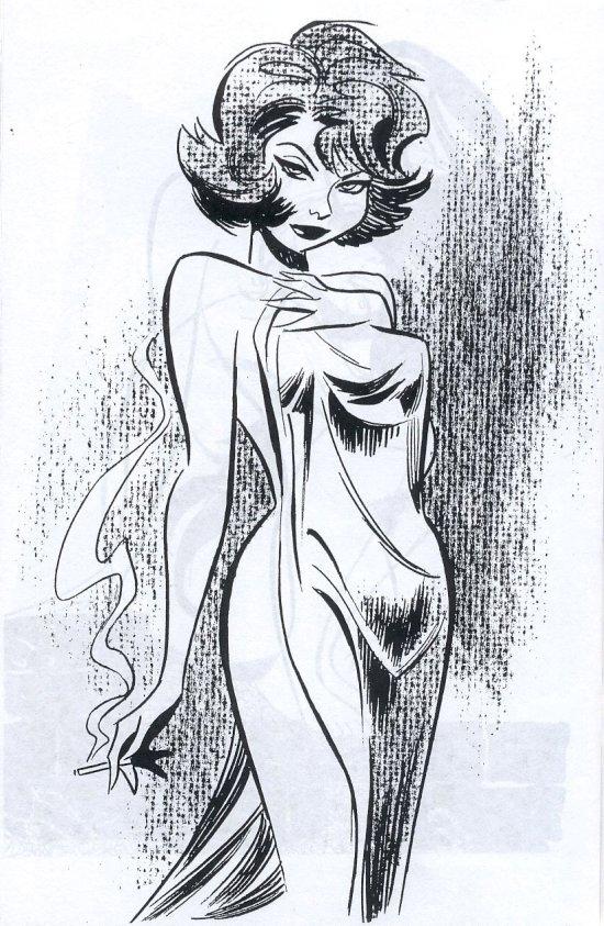 Mujer (Bruce Timm Sketchbook, 2008)