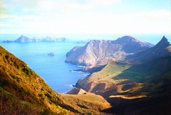 880601 Robinson Crusoe Island (rona.h) Tags: june 1988 viewpoint cloudnine robinsoncrusoe ronah robinsoncrusoeisland alexanderselkirk worldtrekker juanferandezislands vancouver27 bowman57