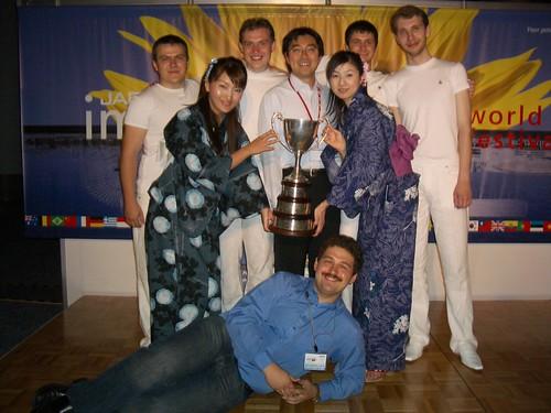 Мы, Imagine Cup, Моррис Сим и две японки