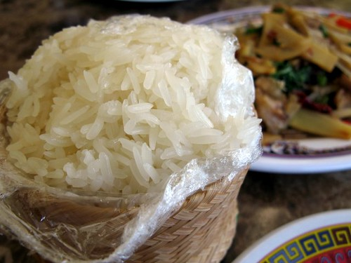 Sticky Rice at Sab E Lee