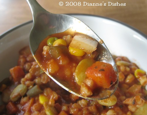 Easy Slow Cooker Vegetable Soup: A Bite