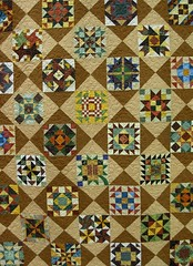 Saturday Sampler Quilt 2007 by Christine Shamborsky.  Photo by Wayne Stratz.