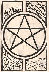 Pentagram 1 on parchment