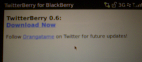 twitterberry download