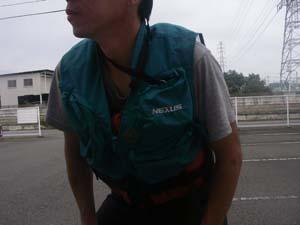 カヤックに乗る時のカメラの位置