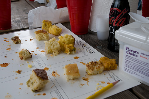 Cornbread Remants From The Miller Lite Chili Cook-Off