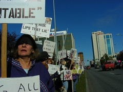 Hold Palin Accountable Rally, 27 Sep 2008