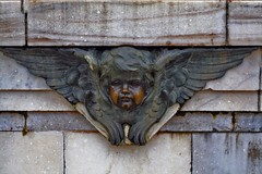 Cherub (sir_watkyn) Tags: india monument architecture angel bronze canon eos 350d interestingness memorial panel victoria lord relief engraving cherub historical british marble cupid dslr calcutta raj curzon abigfave earthasia damniwishidtakenthat flickrlovers sirwatkyn