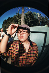 Fisheye at San Diego Zoo (by magicalobizuth)