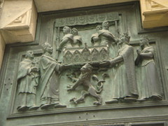 St. Vitus Cathedral doors (tefreese) Tags: prague isap globalmethconference