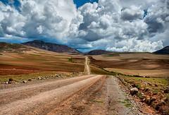 Autunno (Tati@) Tags: sky nature clouds landscape countryside strada nuvole campagna cielo fields paesaggio temporale campi drammatic flickrdiamond goldstaraward