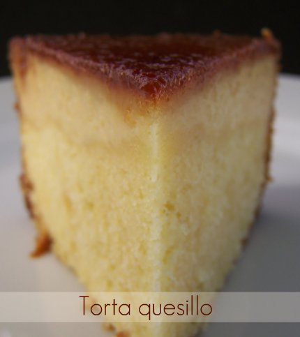 Torta quesillo