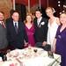 Casados e família da noiva