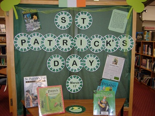 St Patricks Day display by KYD Adviser
