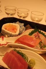 Second: sashimi and karasumi