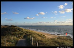 Dishoek (M-Mick3y) Tags: sea sky holland beach clouds colours view air thenetherlands dishoek zoutelande