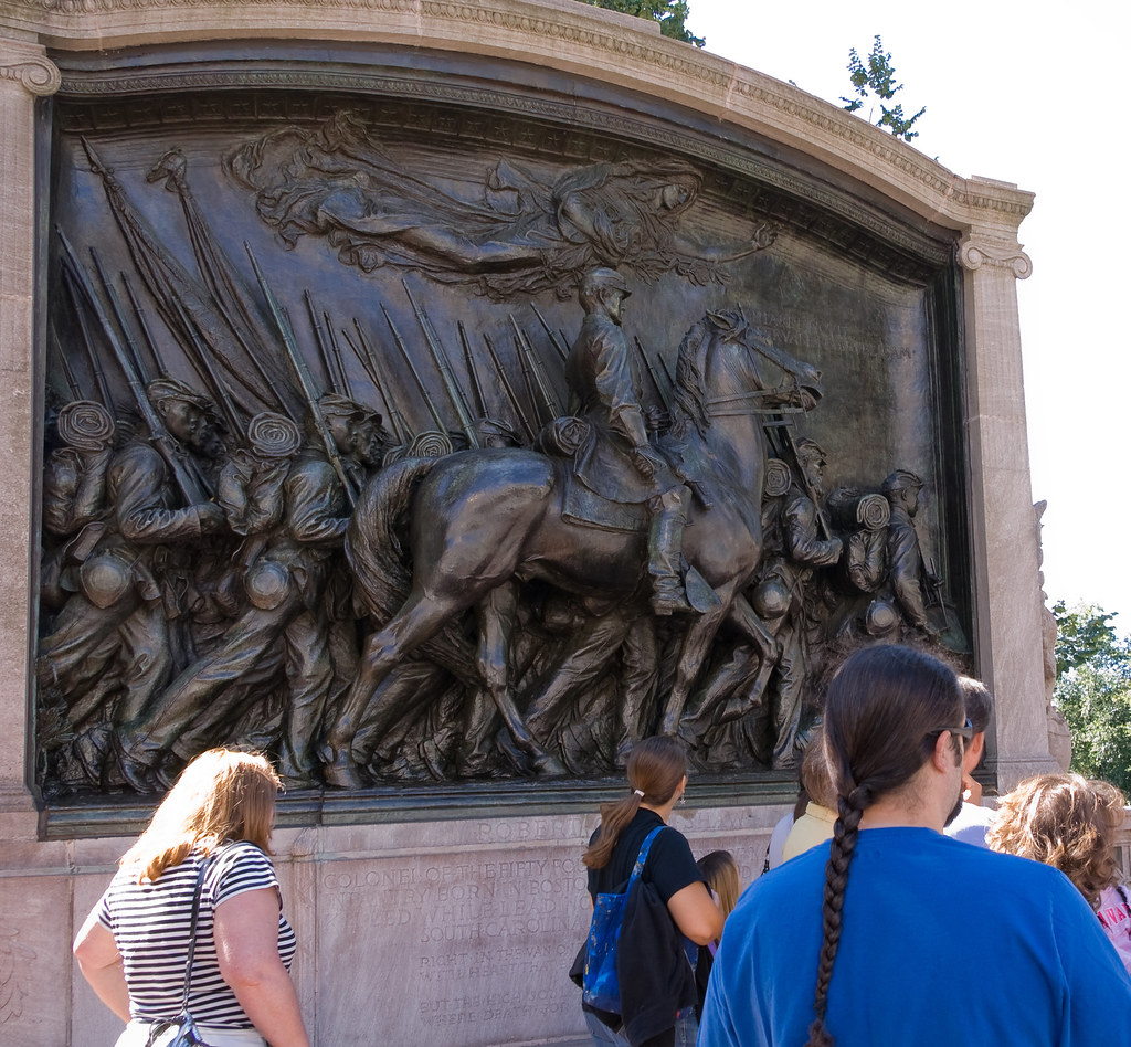 The Robert Gould Shaw Memorial