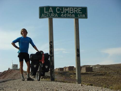 La Cumbre Pass, 4.496 m. Bolivia.