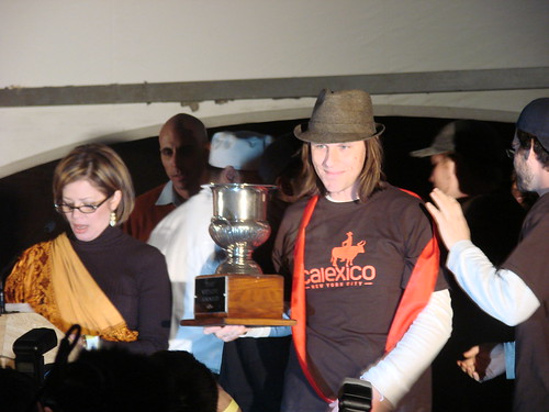 The 2008 Vendy Winner's, the Calexico Cart