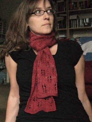Flame Stitch Scarf
