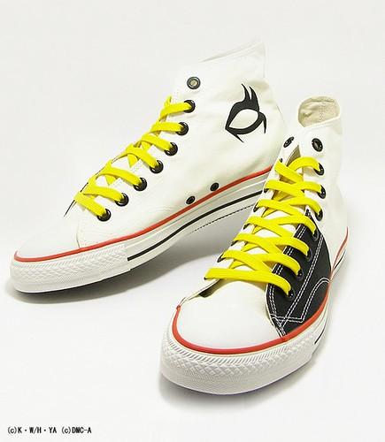 White Detroit Metal City Shoes