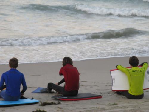 SCHS Surf Team members
